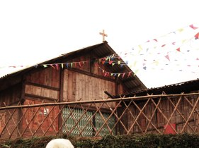 A CATHOLIC CHURCH IN SAPA